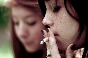 Курение подростков девочек