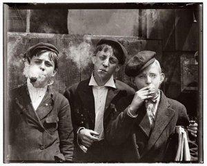 Причины курения подростков
